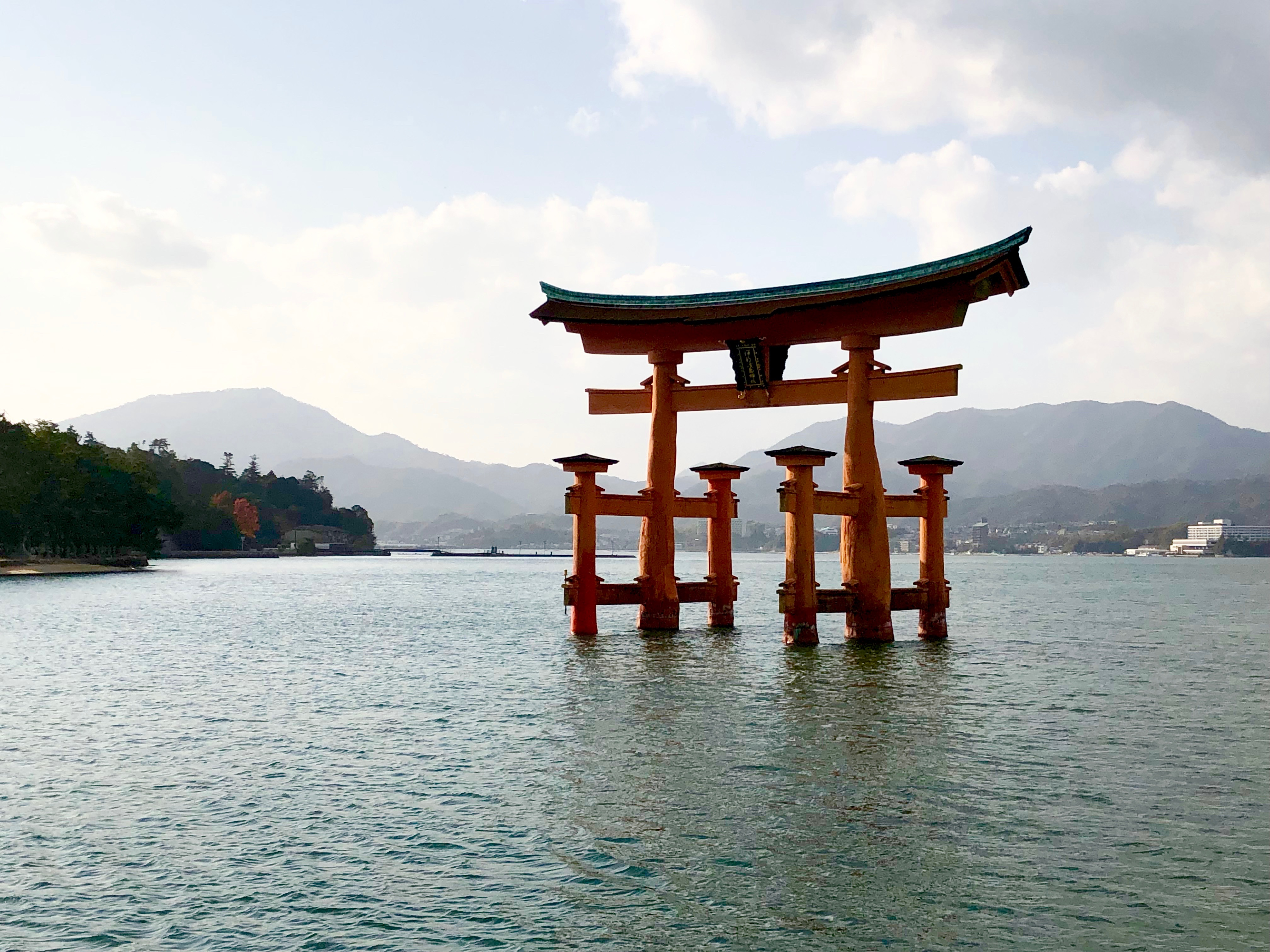 Floating Torii in Miyajima